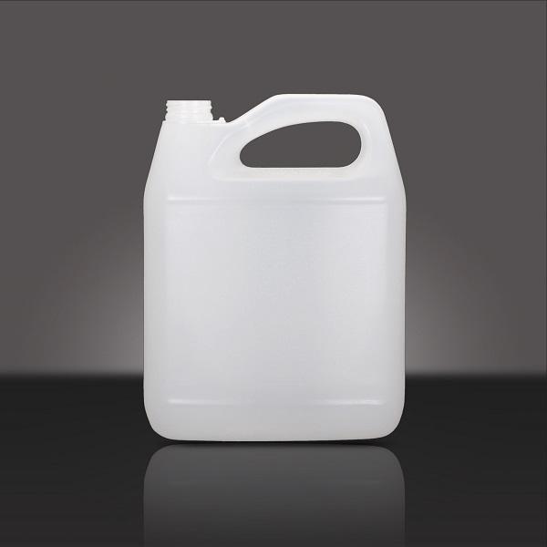 Galão de combustível feito de polietileno de alta densidade (PEAD).