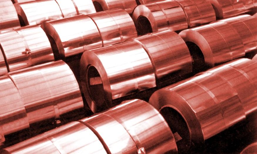 A característica mais importante do cobre eletrolítico é a alta condutitilidade elétrica.
