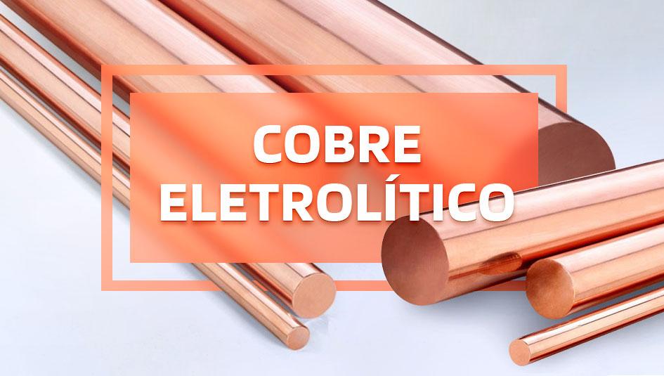 Descubra tudo sobre o cobre eletrolítico.