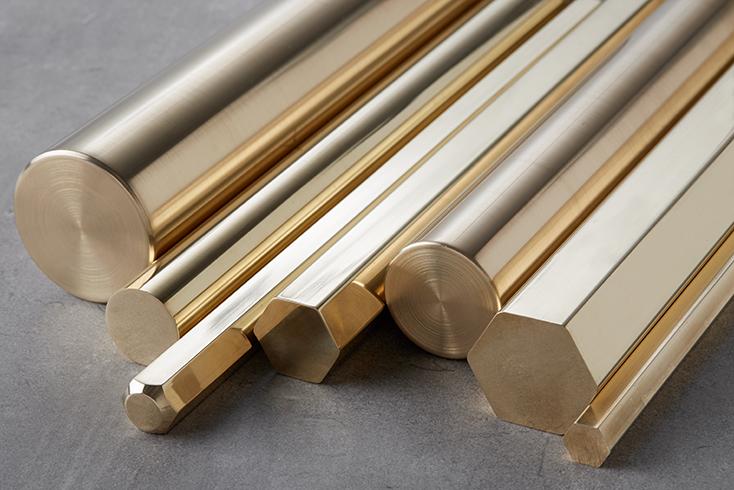 Veja onde comprar barras de latão CLA 360.