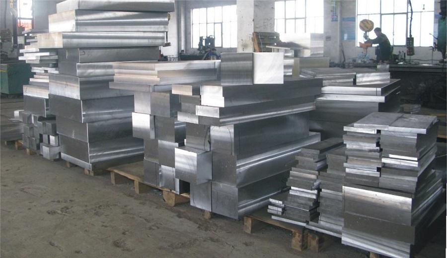 Barras retangulares de aço ferramenta P20.