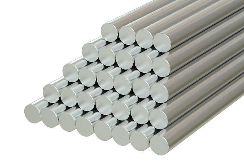 Barras redondas de aço retificado 1045 h7.