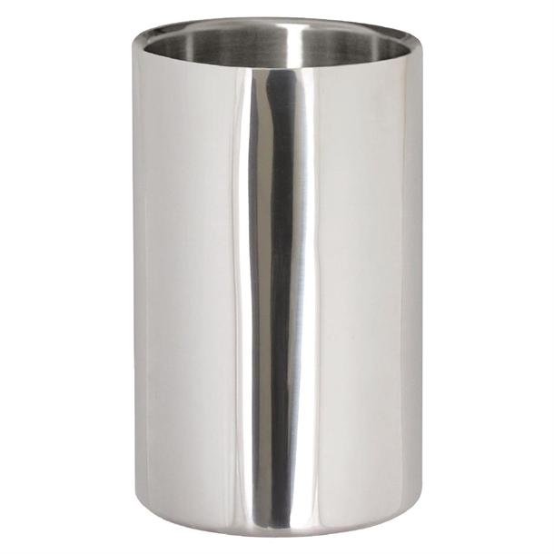 Cooler de aço inox.