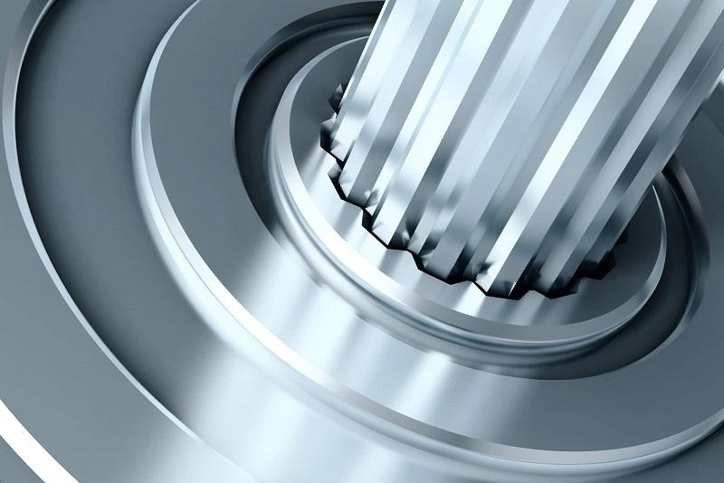 Aço trefilado, usado bastante na indústria automotiva.