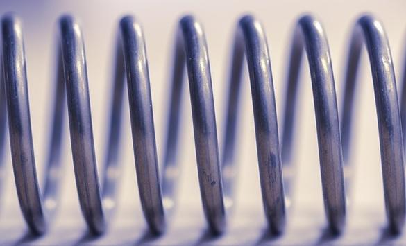 O aço mola é um exemplo de metal dúctil.